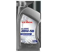 TEMOL CLASSIC 20W-50 - 1L - Temol, официальный интернет-магазин