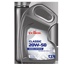 TEMOL CLASSIC 20W-50 - 4L - Temol, официальный интернет-магазин