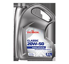 TEMOL CLASSIC 20W-50 - 5L - Temol, официальный интернет-магазин