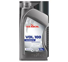 TEMOL COMPRESSOR OIL VDL 100 - 1L - Temol, официальный интернет-магазин