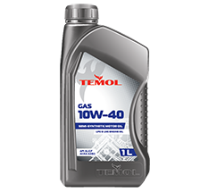 TEMOL GAS 10W-40 - 1L - Temol, официальный интернет-магазин