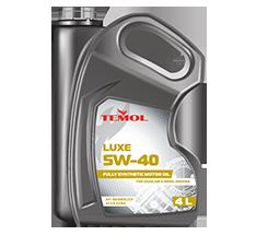 TEMOL LUXE 5W-40 - 4L - Temol, официальный интернет-магазин