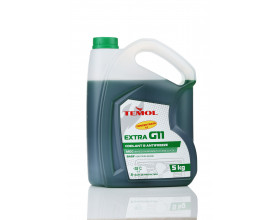 TEMOL ANTIFREEZE EXTRA CONCENTRATE G11 GREEN - 5L