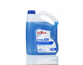 TEMOL ANTIFREEZE EXTRA G11 BLUE - 5L