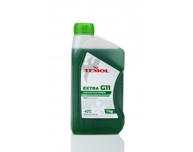 TEMOL ANTIFREEZE EXTRA G11 GREEN - 1L