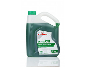 TEMOL ANTIFREEZE EXTRA G11 GREEN - 5L