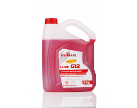 TEMOL ANTIFREEZE LUXE CONCENTRATE G12 RED - 5L