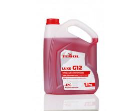 TEMOL ANTIFREEZE LUXE G12 RED - 5L