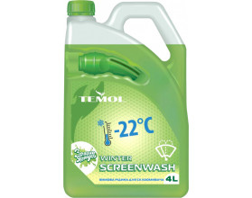 TEMOL WINTER SCREENWASH -22°C GREEN APPLE - 4L